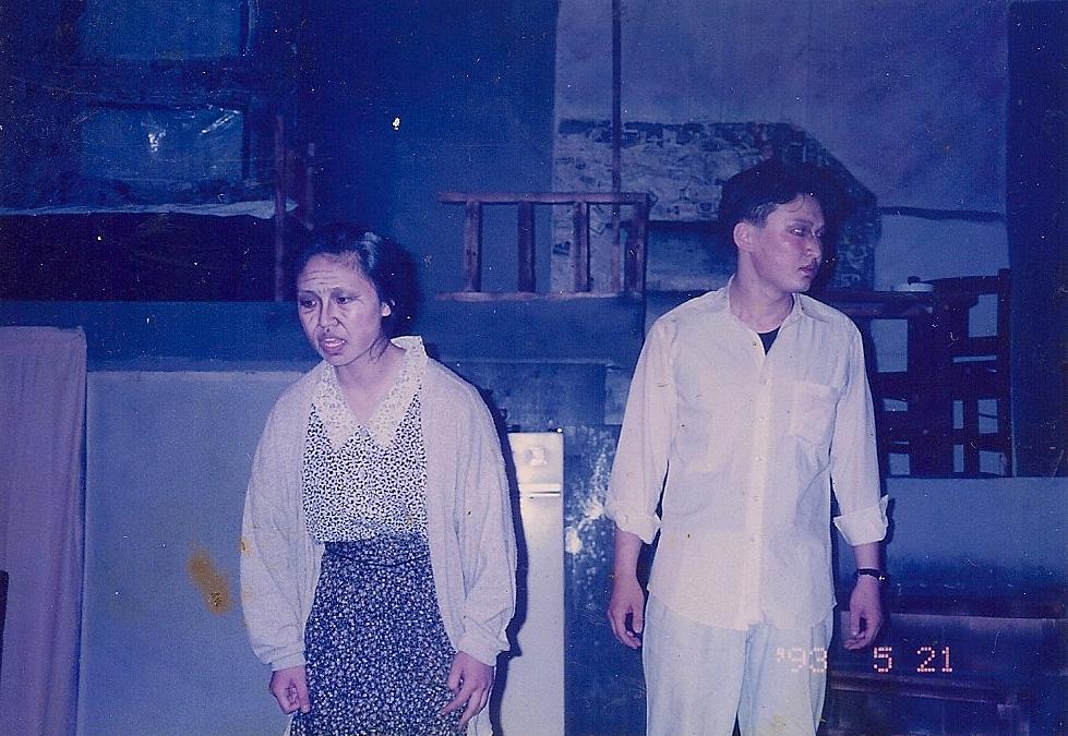 1993년 5월 - 세일즈 맨의 죽음 의 한장면