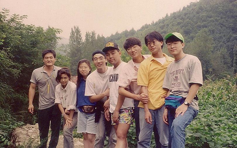 1993년 8월 17일  - 강촌 MT