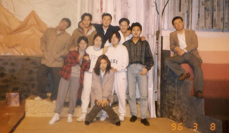 """1996년 3월 8일 - 54회 정기공연 """"자살"""""""