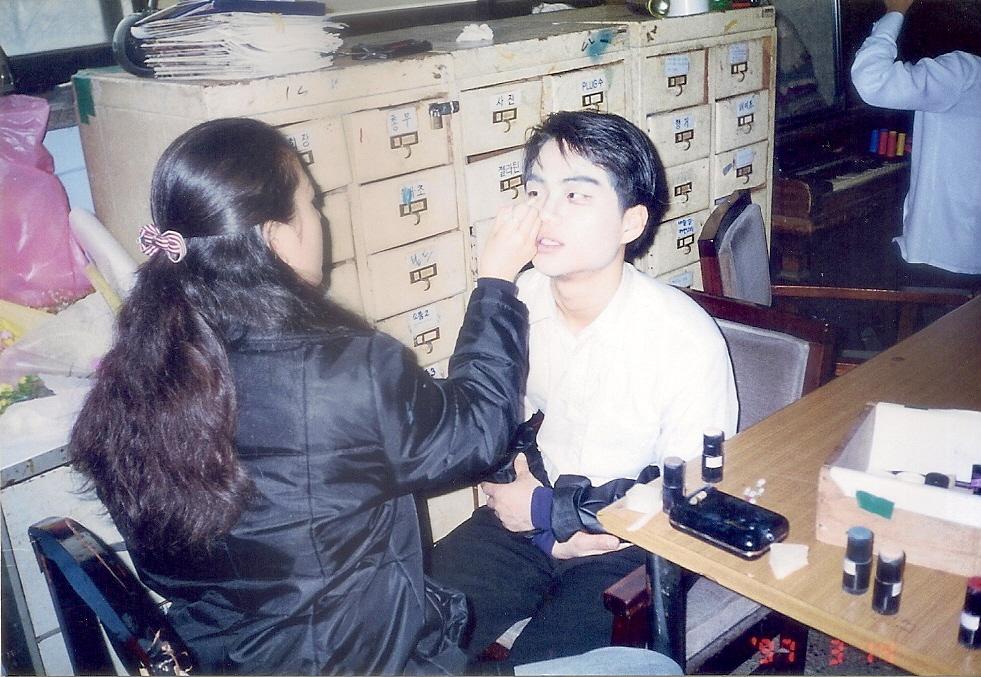 """1997년 56회 정기공연 """"우리읍내""""의 명진이"""